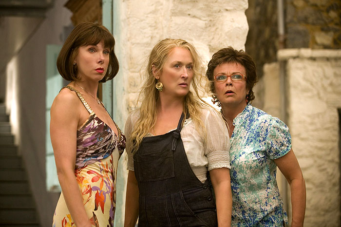 Christine Baranski, Meryl Streep, Julie Walters