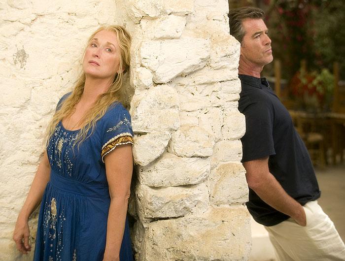 Pierce Brosnan, Meryl Streep